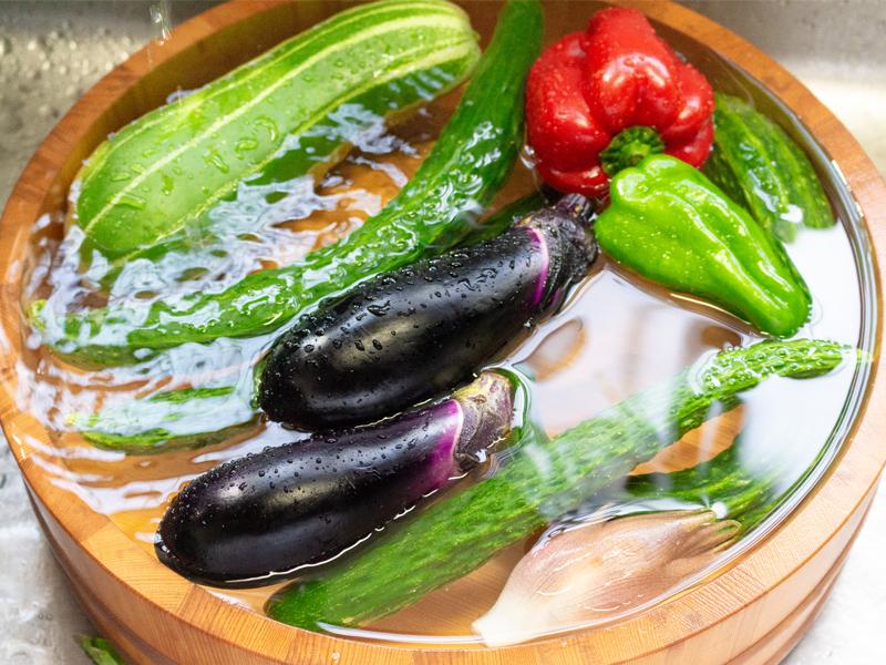 かつて日本人は野菜を洗剤で洗っていた!なんで洗うの?今もできるの?