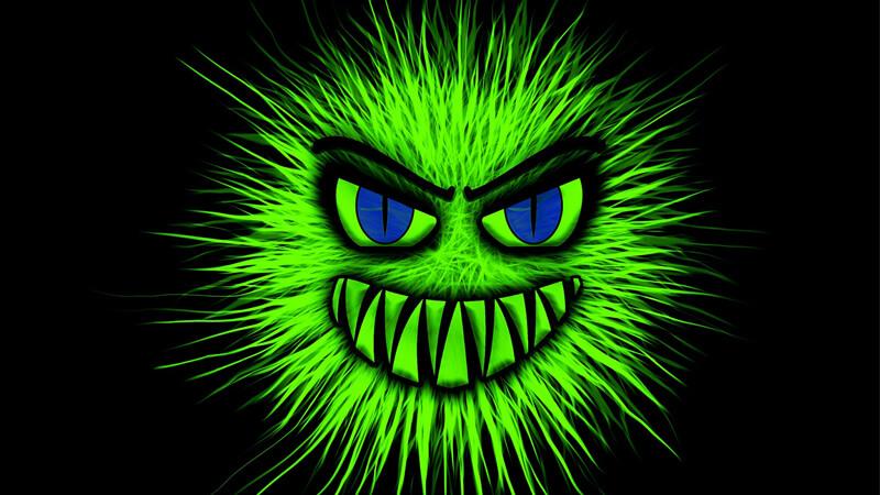 ウイルス感染イメージ
